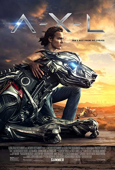 دانلود فیلم AXL 2018