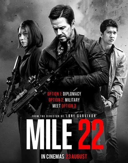 Mile 22 2018 - دانلود فیلم Mile 22 2018