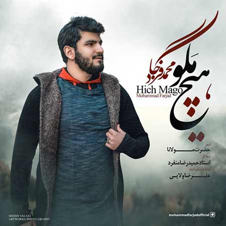 Mohammad Farjad Hich Mago - دانلود آهنگ هیچ مگو محمد فرجاد