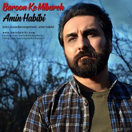 Amin Habibi Baroon Ke Mibareh - دانلود آهنگ بارون که میباره امین حبیبی