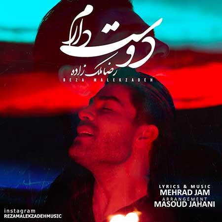 Reza Malekzadeh Dooset Daram - دانلود آهنگ دوست دارم رضا ملک زاده